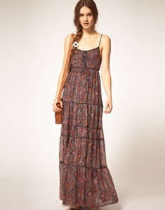 Pepe jeans patterned maxi dress 85pounds